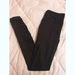 Lululemon Ruched Full Length Leggings